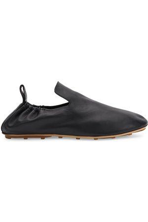 Bottega Veneta Men's Plank Leather Slippers - - Size 8.5