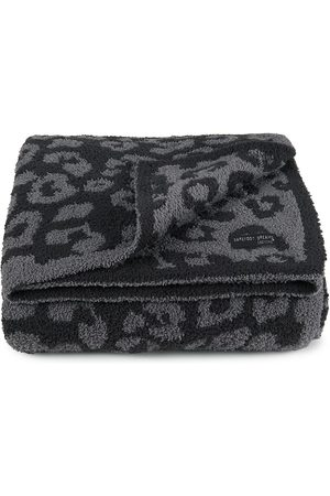 Barefoot Dreams Cozy chic Barefoot in the Wild Throw - Graphite Carbon