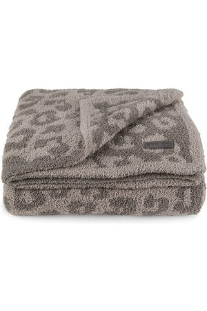 Barefoot Dreams Barefoot In The Wild Cozy chic Adult Throw - Linen Warm Grey