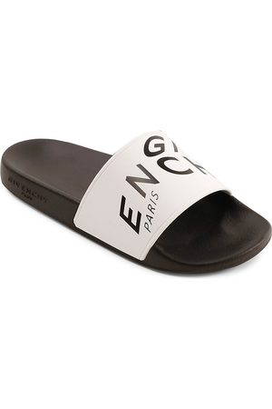Givenchy Kids Sandals - Little Kid's & Kid's Logo Slide Sandals