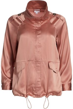 CAMI Women's Quinn Silk Jacket - Blushing - Size Small