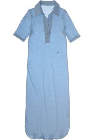 Helmut Lang Women's Polo Midi Dress - Aquarius - Size Small