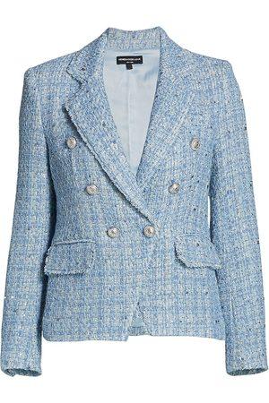 Generation Love Women's Eliza Tweed Jacket - Light Multi - Size Small
