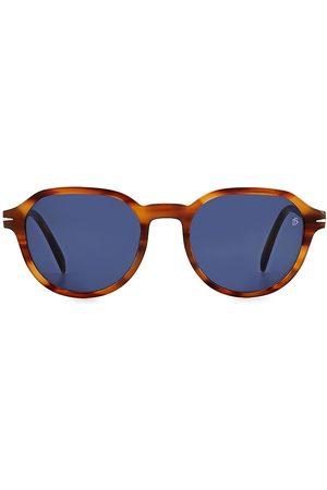 David beckham Men's 51MM Round Sunglasses