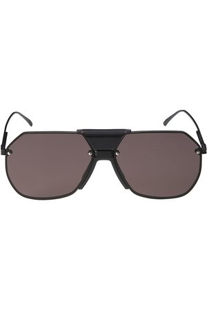 Bottega Veneta Men's 62MM Aviator Sunglasses - Grey