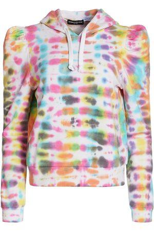 Generation Love Women's Carla Tie Dye Hoodie - Bright Multi Color Tie Dye - Size XS