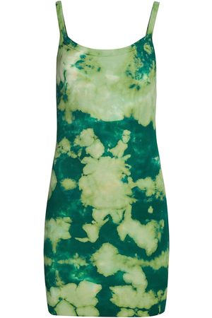 Cotton Citizen Women's Verona Tie-Dye Tank Dress - Shamrock Blast - Size Medium