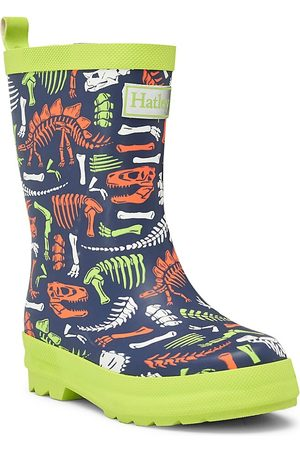 Hatley Boys Rain Boots - Little Boy's and Boy's Dino Bones Rubber Boots - - Size 13 (Child)