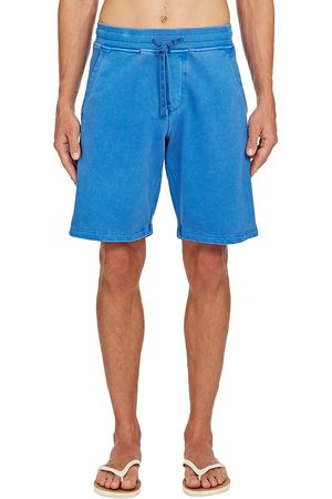 Orlebar Brown Men's Frederick Washed Sweat Shorts - Sky Diver - Size XXL