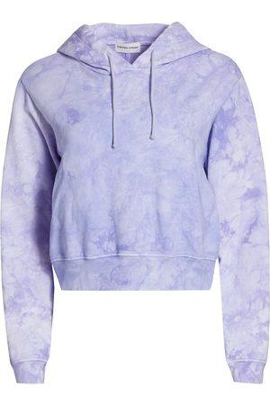 Cotton Citizen Women's Milan Tie-Dye Hoodie - Lilac Crystal - Size Large