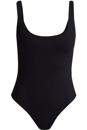 Susana Monaco Women's Low Back Thong Bodysuit - - Size Large