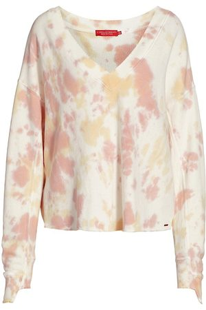N:philanthropy Women's Aries Tie-Dye Sweatshirt - Mauve Moon Tie Dye - Size Small