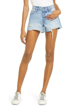 HIDDEN JEANS Women Shorts - Women's Ripped Cutoff Denim Shorts