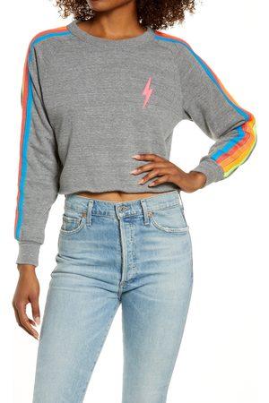 AVIATOR NATION Women Hoodies - Women's Bolt Crop Sweatshirt