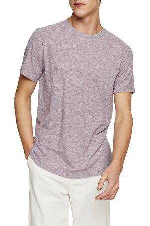 Topman Men's Classic Fit Rib Crewneck T-Shirt