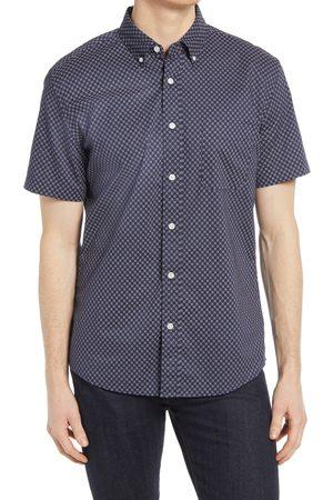 Faherty Men's Playa Foulard Print Short Sleeve Button-Down Shirt