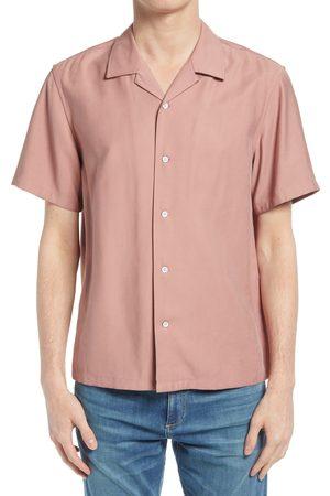 RAG&BONE Men Short sleeves - Men's Avery Short Sleeve Button-Up Camp Shirt