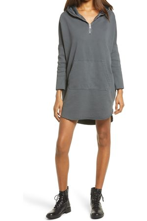 AllSaints Women's Xonda Long Sleeve Cotton Hoodie Dress