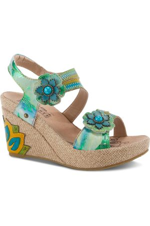 L'ARTISTE Women's Karnit Platform Sandal