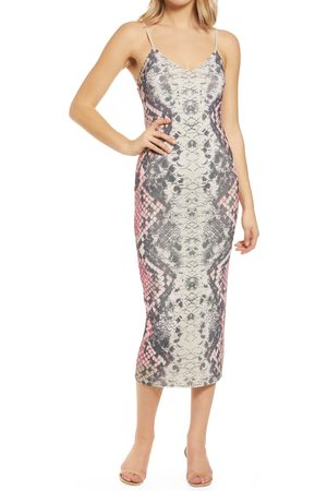 AFRM Women Midi Dresses - Plus Size Women's Amina Sleeveless Midi Dress