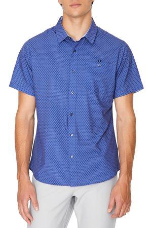 7 Diamonds Men Short sleeves - Men's Flawless Short Sleeve Button-Up Shirt