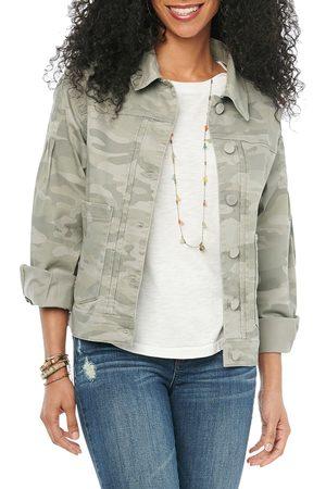 Wit & Wisdom Women's Camo Print Jacket
