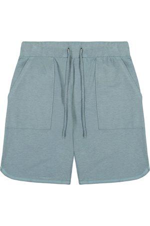 miss goodlife Men's Men's Stretch Cotton Micro Terry Drawstring Shorts