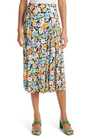 STINE GOYA Women's Paloma Floral Jersey Skirt