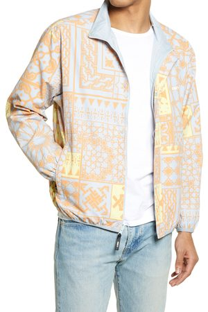 Obey Men's Patchwork Reversible Jacket