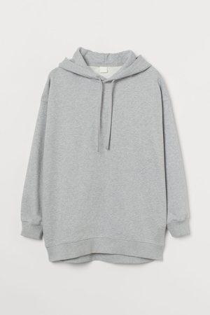 H&M Oversized Cotton Hoodie