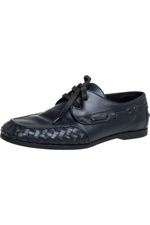 Bottega Veneta Intrecciato Leather Derby Size 42.5