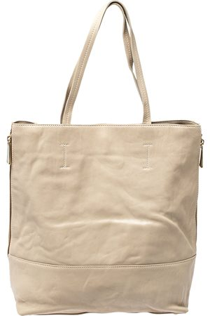 Furla /Brown Leather Side Zip Tote