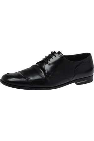 Prada Leather Lace Up Derby Size 43