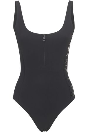 Moncler Matte Stretch Jersey One Piece Swimsuit