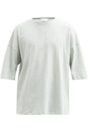 Raey Men T-shirts - Oversized Cotton-jersey T-shirt - Mens - Light
