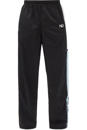 NOON GOONS Schoolyards Logo-embroidered Jersey Track Pants - Mens