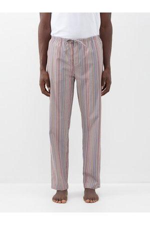 Paul Smith Signature Stripe Cotton Pyjama Trousers - Mens - Multi