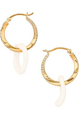 COMPLETEDWORKS Women Earrings - Flawed Logic Earrings in Metallic