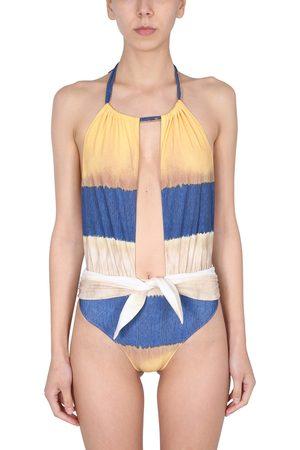 Alberta Ferretti Women Swimwear - Costume intero con stampa tie dye