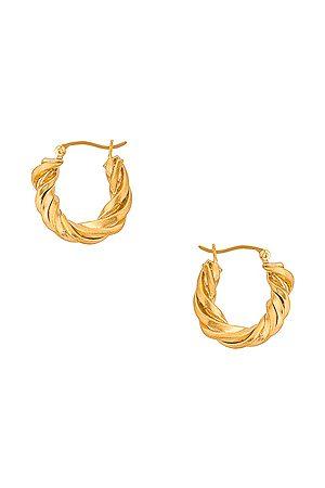 COMPLETEDWORKS Women Earrings - Deep State Earrings in Metallic