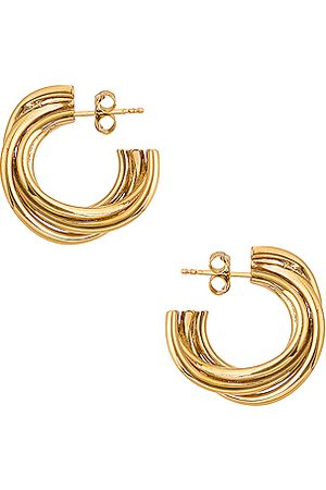 COMPLETEDWORKS Encounter Earrings in Metallic