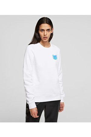 Karl Lagerfeld Women Sweatshirts - MINI IKONIK CHOUPETTE BALLOON SWEATSHIRT