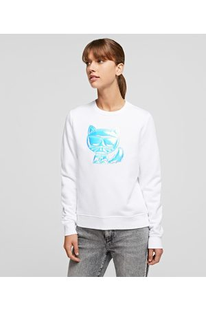 Karl Lagerfeld Women Sweatshirts - IKONIK CHOUPETTE BALLOON SWEATSHIRT
