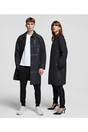 Karl Lagerfeld Trench Coats - UNISEX TRENCH COAT