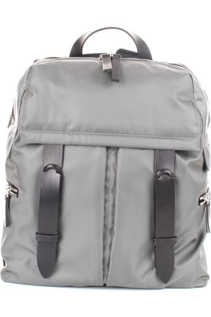 Orciani Backpacks Men Grey Nylon