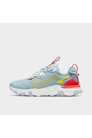 Nike Boys' Big Kids' React Vision Running Shoes in /Light Armory Size 3.5