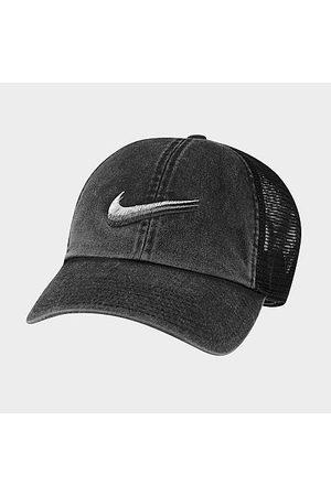Nike Men Hats - Sportswear Heritage 86 Swoosh Trucker Hat in /Washed 100% Cotton/100% Polyester/Twill