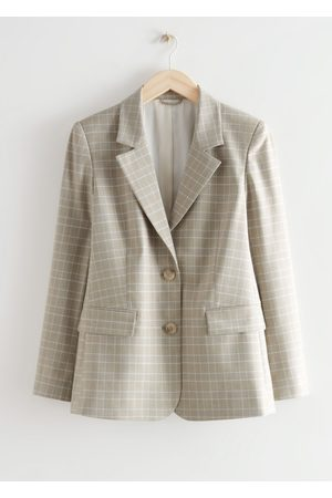 & OTHER STORIES Women Blazers - Fitted Single Breasted Blazer