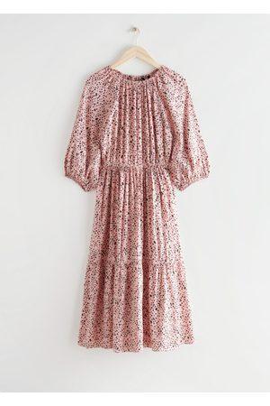 & OTHER STORIES Voluminous Raglan Sleeve Midi Dress