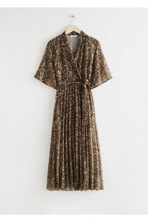 & OTHER STORIES Women Midi Dresses - Floaty Pleated Midi Dress